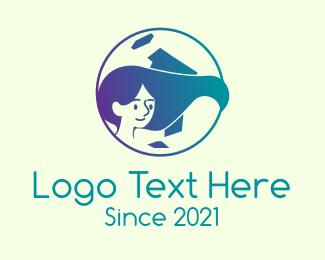 Sister - International Hair Product  logo design