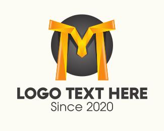 3d - 3D Letter M logo design