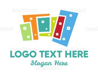 Blocks - Floral Buildings logo design
