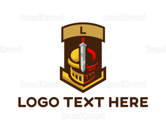 Medieval - Knight Sport Mascot logo design