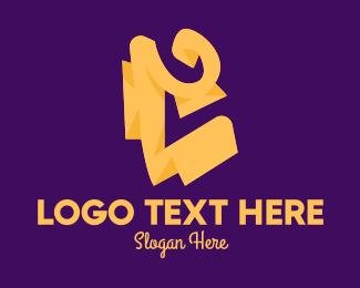 Letter C - Golden Letter C logo design