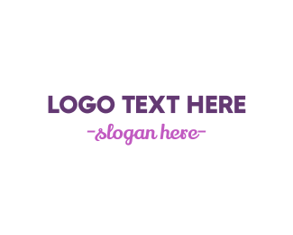 Cursive - Modern & Cursive logo design