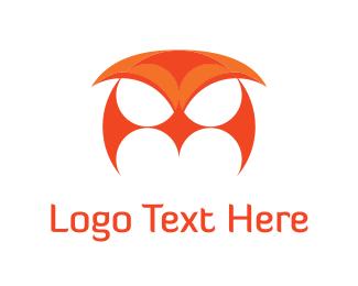 Bat - Owl Mask logo design