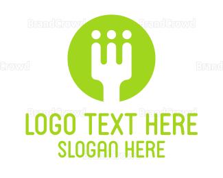 Food Blog - Food Team logo design