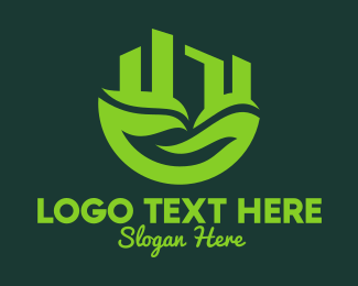 Eco Friendly - Eco Friendly City logo design