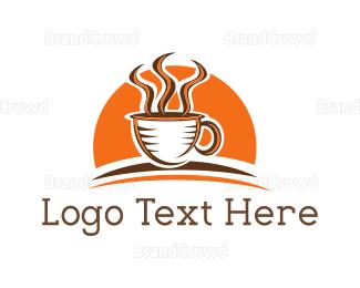 Drink - Sunrise Coffee logo design