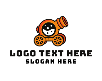 War - Cannon Lab logo design
