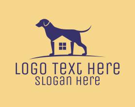 Puppy - Dog Kennel House logo design