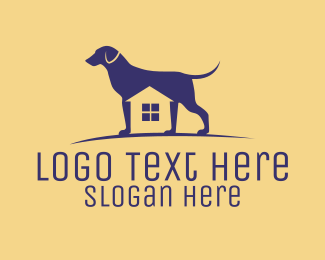 K9 - Dog Kennel House logo design