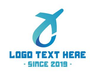 Trip - Abstract C Aviation logo design