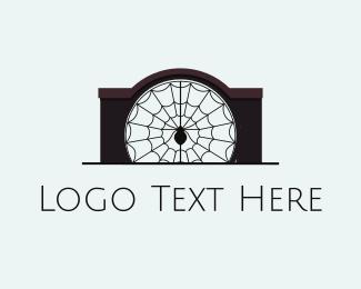 Gothic - Spider Gate logo design