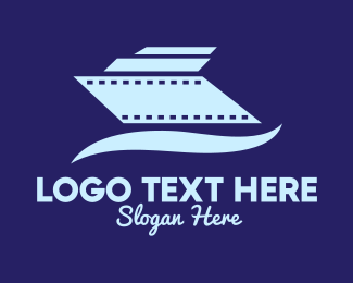Cruise - Cruise Ship Film logo design
