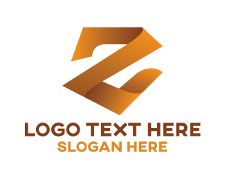 Luxury - Gold Luxury Letter Z logo design