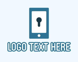 Secure - Phone Security Application logo design