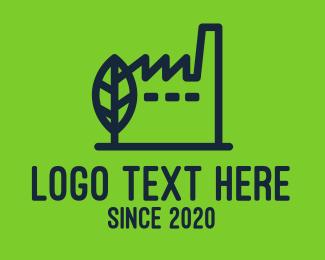 Building - Eco Friendly Building logo design