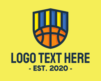 League - Basketball Team logo design