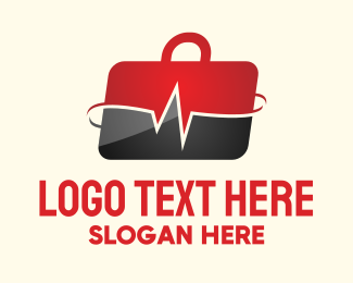 Medical Service - Health Briefcase logo design