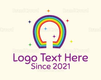 Rainbow - Lucky Rainbow logo design