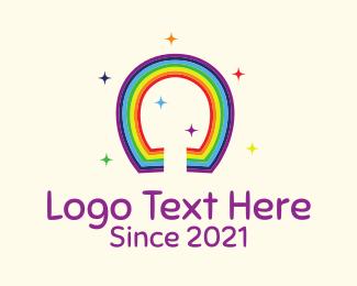 Luck - Lucky Rainbow logo design