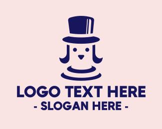 Stylish - Stylish Elegant Dog logo design