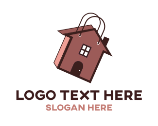 To Go - Home Bag logo design