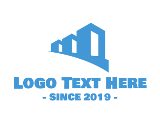 Property - Blue Properties logo design