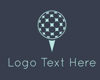 Course - Golf Ball logo design