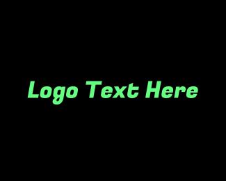 Basic - Simple Green & Black logo design