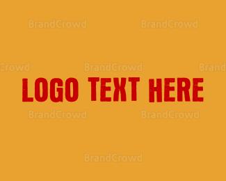 Graffiti - Fun Wordmark Font logo design