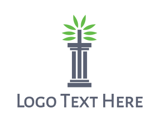 Pillar - Pillar Leaves logo design