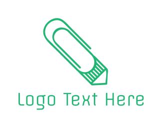 Press - Mint Clip Pencil logo design