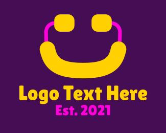 Smile - Player Gaming Smile logo design