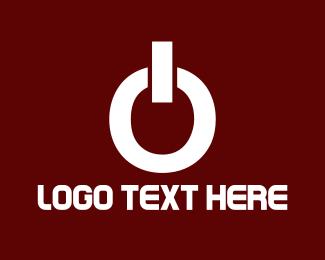 White And Brown - White Power logo design