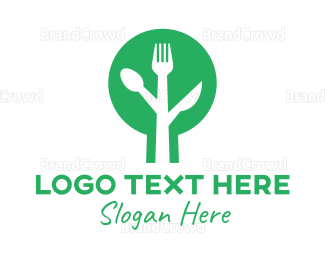 Dining - Modern Tree Dining logo design