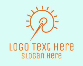 Fashion - Fashion Needle Bird logo design