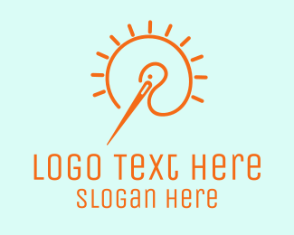 Fashion - Fashion Needle logo design