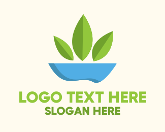 Veggie - Salad Bowl logo design