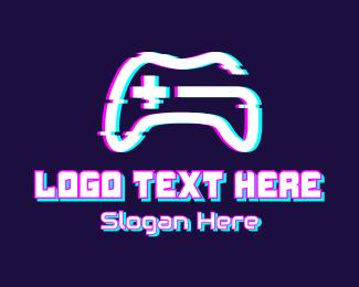 Console - Static Game Console logo design