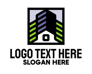 Construction - Modern Construction Company  logo design