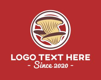 Fungus - Organic Wild Mushroom logo design