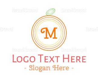Smoothie - Orange Lettermark logo design