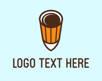 Shot - Coffee Shot logo design