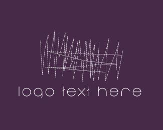 Sewing - White Sewing logo design