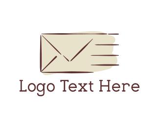 Mailbox - Fast Mail logo design