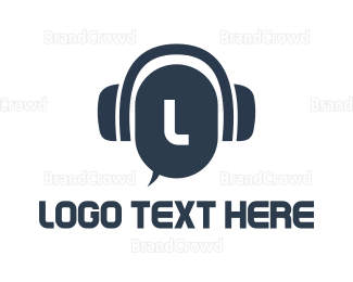 Conversation - Call & Chat Lettermark logo design
