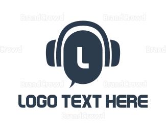 Messenger - Call & Chat Lettermark logo design