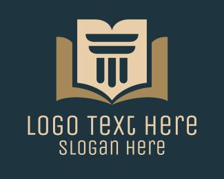 University - Professional Legal Lawyer Attorney logo design
