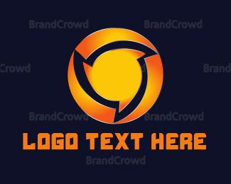 Blade - Round Saw logo design