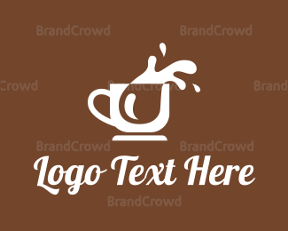 Liquid - Coffee Splash logo design