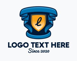 Prize - Theater Cinema Emblem logo design